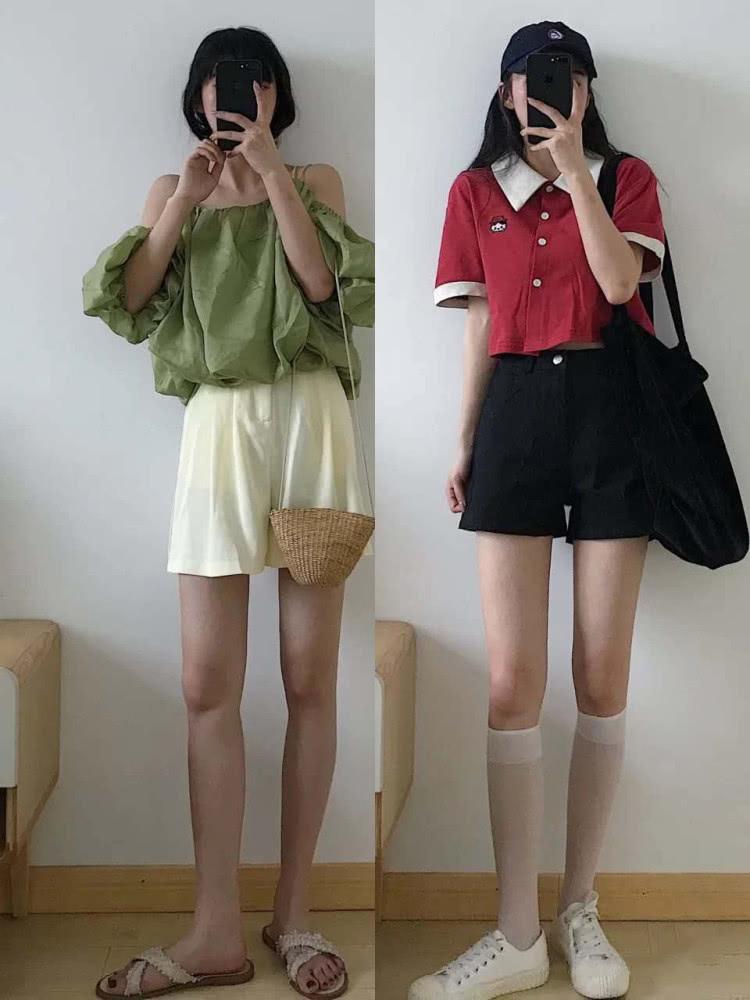 夏季短裤大集合,随心搭配,打造休闲风style