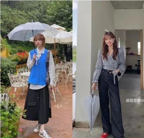 初秋韩系甜美风适合青春的你,这14套清新优雅的穿
